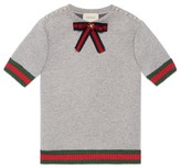Gucci Girl's Bow Sweater