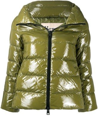 Herno Glove-Insert Padded Jacket