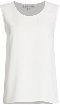 Caroline Rose Petite Suzette Basic Tank Top