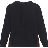 Chinti and Parker Cashmere Hooded Top - Navy