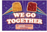 Chronicle Books We Go Together Pop-Up Notecard Collection