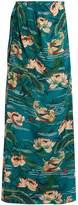 Stella Jean Piccola silk crepe de Chine maxi skirt