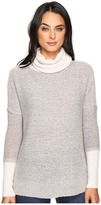 Three Dots Faux Double Sweater