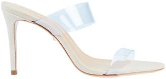 Schutz Ariella PVC Strap Sandals