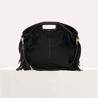 Maje Tote with leather fringe