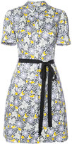 Carolina Herrera floral short sleeve shirtdress - women - Cotton/Spandex/Elastane - 2