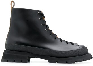 Jil Sander Hiking Style Boots