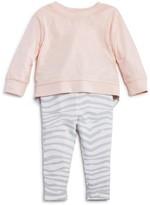 Splendid Girls' Zebra Print Sweater & Leggings Set