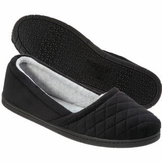 Dearfoams Women's MF Velour Espadrille w/MF Shoe