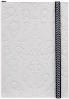 Christian Lacroix A6 Paseo - Embossed layflat notebook - Pastis