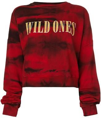 Amiri Wild Ones tie dye sweatshirt
