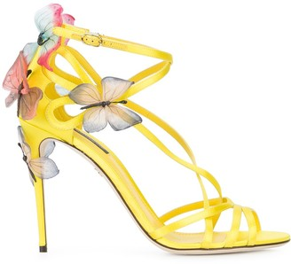 Dolce & Gabbana Keira sandals with butterfly appliques