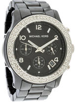 Michael Kors Ceramic Chronograph Watch