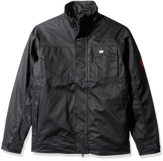 Caterpillar Men's Big-Tall Flame Resistant Uninsulated Jacket