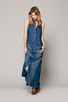 Free People Relaxed Denim Dress