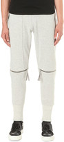 Blood Brother cycle zipped-knee jersey jogging bottoms