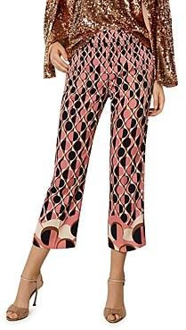 Marella Tartufo Printed Cropped Pants