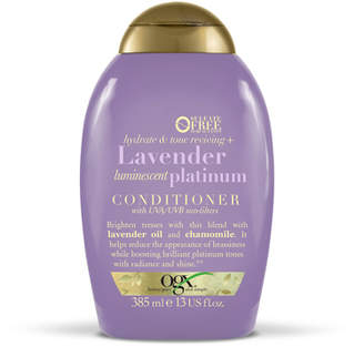 OGX Hydrate & Color Reviving + Lavender Luminescent Platinum Conditioner 385ml
