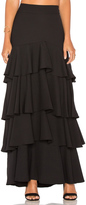 Lucy Paris Liane Ruffled Skirt