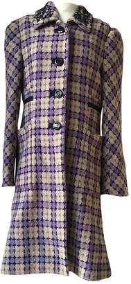 By Malene Birger Purple Wool Coats