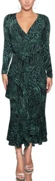 Rachel Roy Paloma Printed Jersey Dress