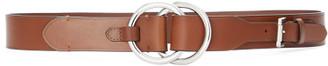 Ralph Lauren Double O-Ring Leather Belt