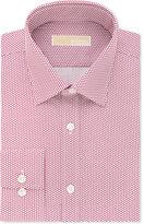 MICHAEL Michael Kors Men's Classic-Fit Non-Iron Berry Print Dress Shirt