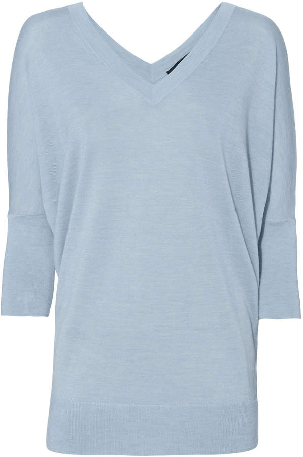 Derek Lam Core Grey Batwing Sweater