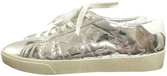 Saint Laurent Silver Patent leather Trainers