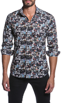 Jared Lang Media Cotton Sportshirt