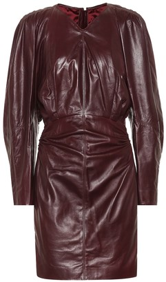 Isabel Marant Celini leather minidress