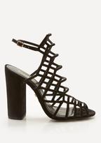 Bebe Naara Block Heel Sandals