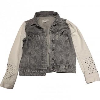 Sandro Grey Denim - Jeans Jacket for Women