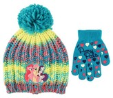 My Little Pony Girls' Knit Beanie Hat and Glove Set - Teal