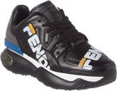 Fendi X Fila Mania Leather Platform Sneaker