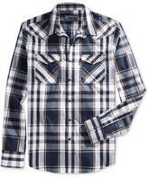 American Rag Men's Long-Sleeve Plaid Shirt, Only at Macy's