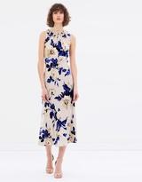 Lover Watercolour Sway Midi Dress