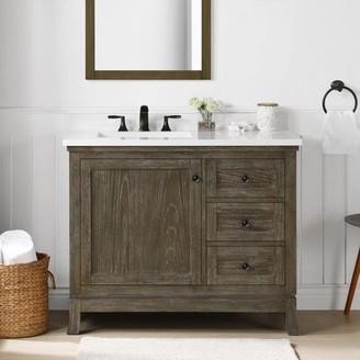 "Martha Stewart Bedford Meadow 42"" Single Bathroom Vanity Set"