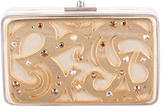 Devi Kroell Embellished Leather Box Clutch