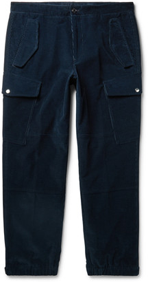Moncler Genius 2 1952 Tapered Cotton-Corduroy Cargo Trousers