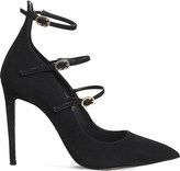 Office Noted triple strap nubuck courts