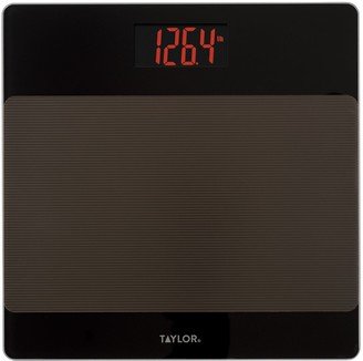 Taylor LED Bath Scale with Sure Foot Surface
