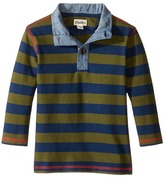 Hatley Farm Stripe Mock Neck (Toddler/Little Kids/Big Kids)