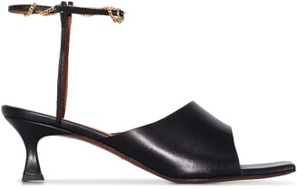 MANU Atelier Athena 50mm ankle strap sandals