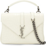Saint Laurent Monogram Collège small leather satchel