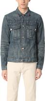 Billy Reid Distressed Clayton Denim Jacket