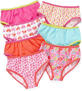 JCPenney Okie Dokie 7-pk. Floral Brief Panties - Girls 2t-5t