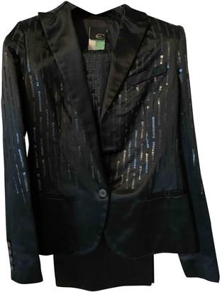 Just Cavalli Black Silk Skirt for Women