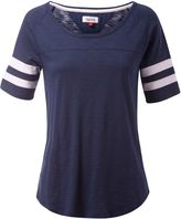 Tommy Hilfiger Boat Neck Stripe Top