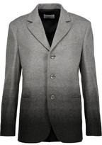 RED Valentino Ombré Wool-Blend Jacket